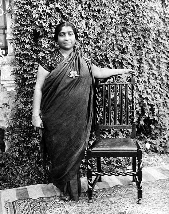 Sarojini Naidu Rare Photograph
