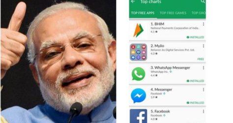 BHIM app for Money transfer