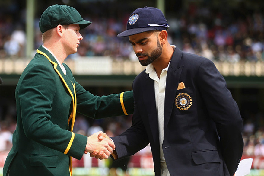 India Vs Australia Test Series 2017