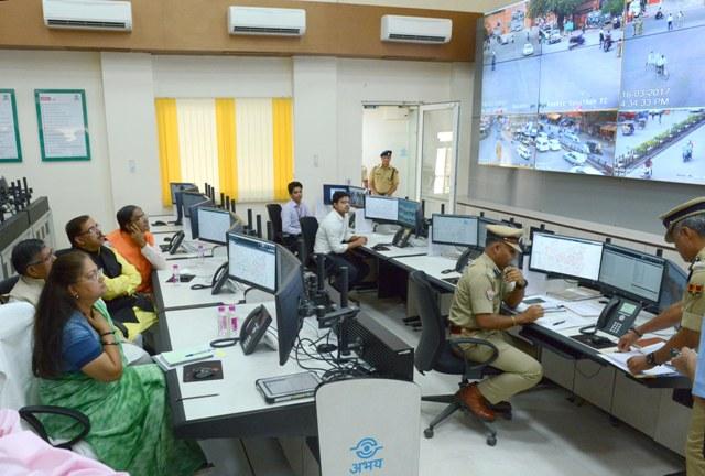 Surveillance of crime hotspots through CCTVs.