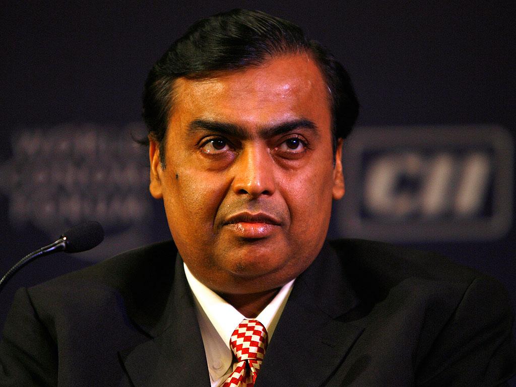 Mukesh Ambani Most richest man in india