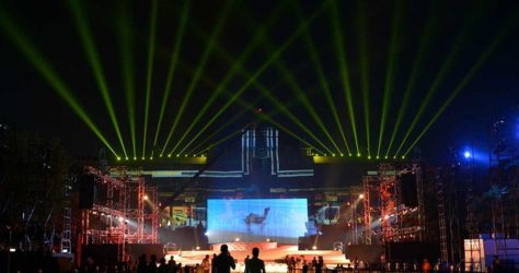 Rajasthan Day 2017 Laser Show