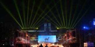 Rajasthan Day 2017 Laser Show