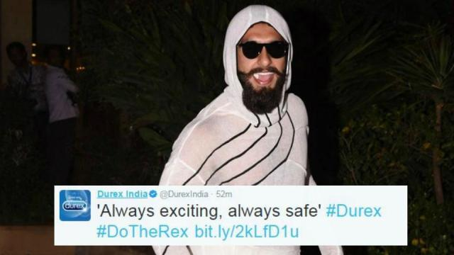 Durex Endorsing Ranveer!