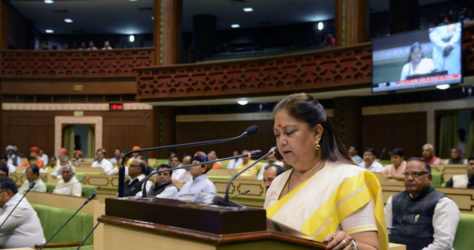 vasundhara-raje-budget-2017-18-ohmyindia-