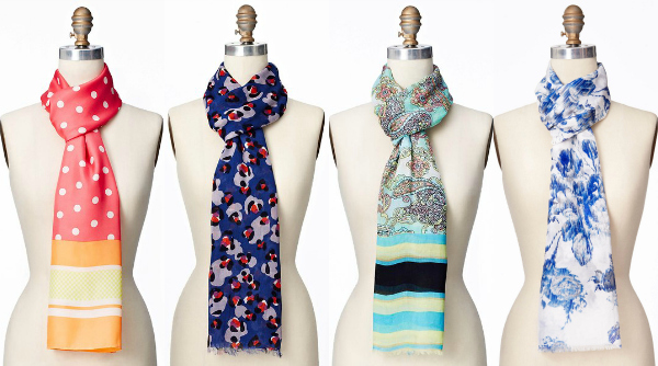printed summer scarves