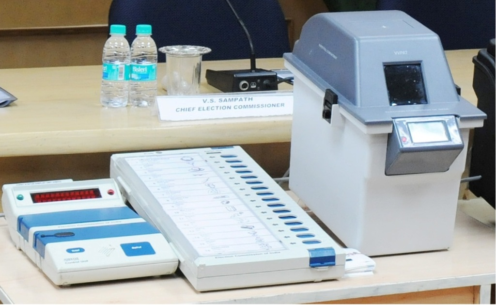 Centre Gives a Clean Chit to Paper Trail EVMs for Upcoming Elections
