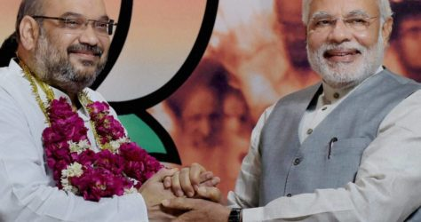 Amit Shah elected as BJP President