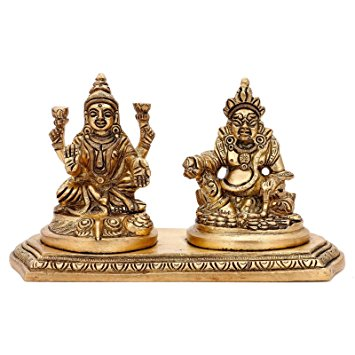 goddess Laxmi and Lord Kuber