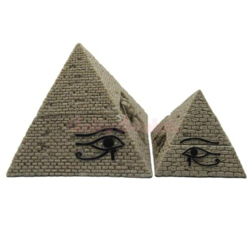 Pyramid statue