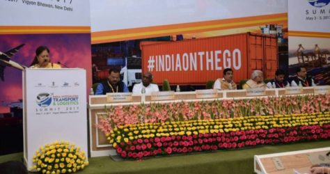 CM Raje Paints a Promising Future for Rajasthan in Transport & Logistics Sector
