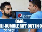 Virat Kohli and Anil Kumble Rift.