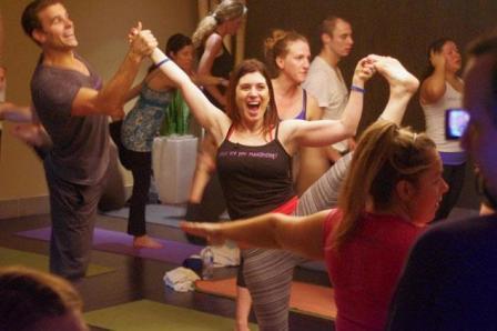 Dance your way to Yoga: Karaoke Yoga