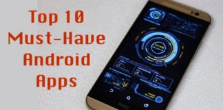 Top 10 Android apps in India