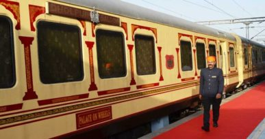 Palace on Wheels exterior