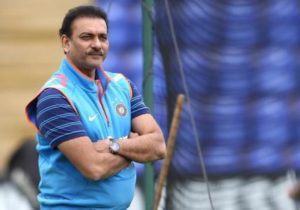 Ravi Shastri: The inventor of the famous 'chapati shot'.