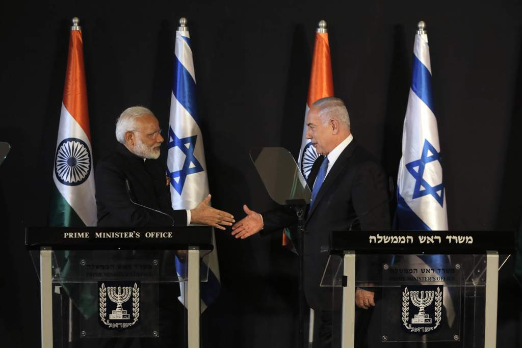 Indo-Israel Partnership Goes Strong: Nations Sign 7 MoU for Development
