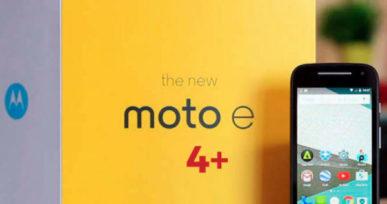 moto-e4