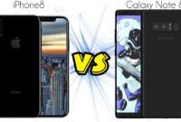 iPhone 8 Vs Samsung Note 8-OMI