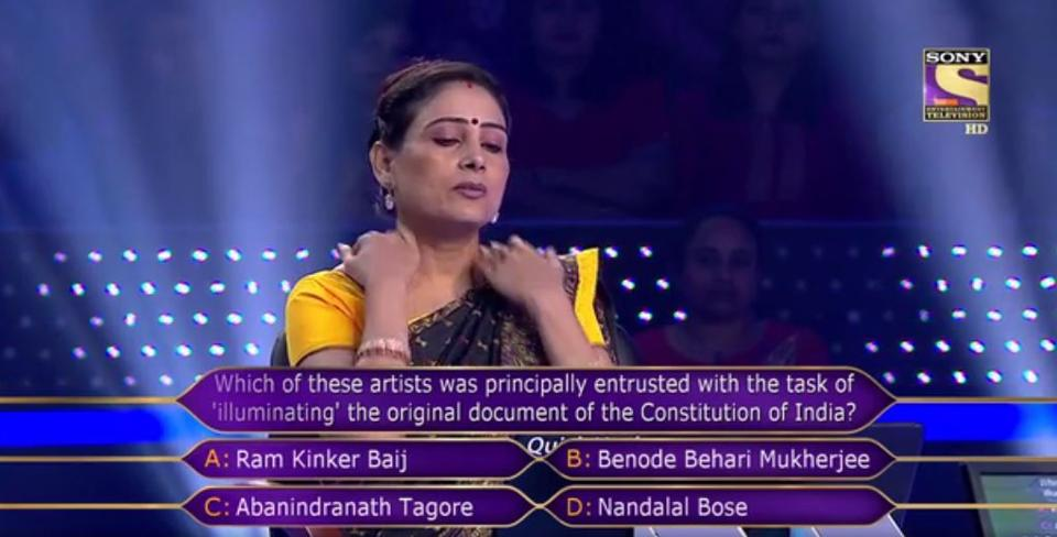 KBC Season 9 1-Crore Question