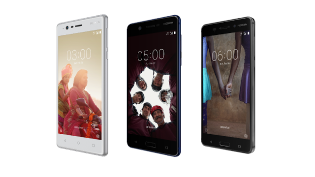 Nokia 3,5, and 6 Models