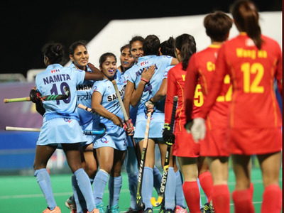 India Women Hockey Team Defeat China to win Asia Cup