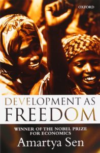 'Development as Freedom' by Amartya Sen