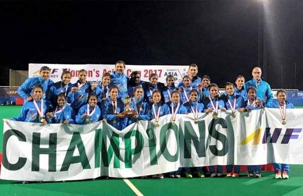 India Women Hockey Team Win Asia Cup