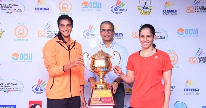 Saina Nehwal beats PV Sindhu