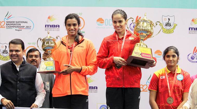 Saina Nehwal beats PV Sindhu to win third national title