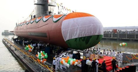 INS Kalvari Commissioned by PM Modi