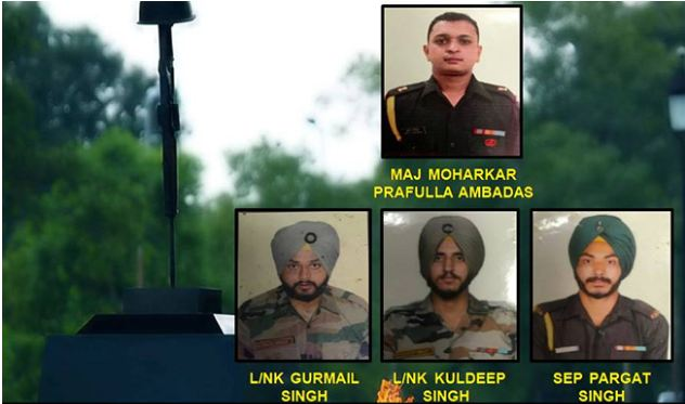 Indian Army Personnel who lost their lives in Rajouri Ceasefire Violation