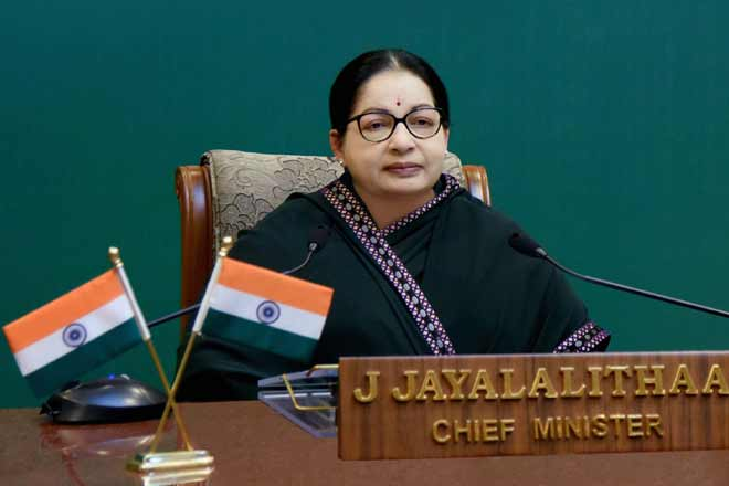 Jayalalithaa CM