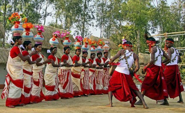 Poush Mela Tribal Dance