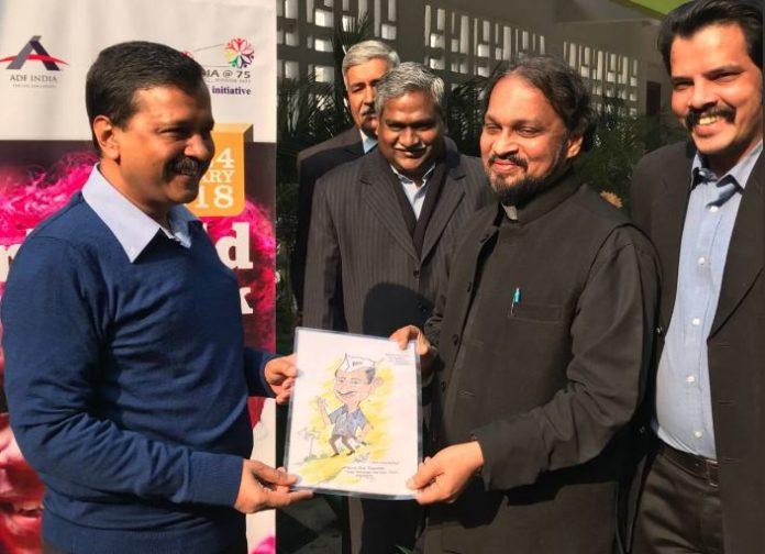 Girl Child Week Inauguration by CM Kejriwal