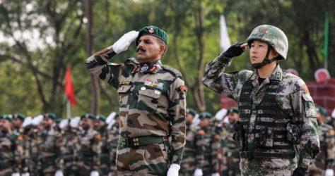 India-China-military-drill