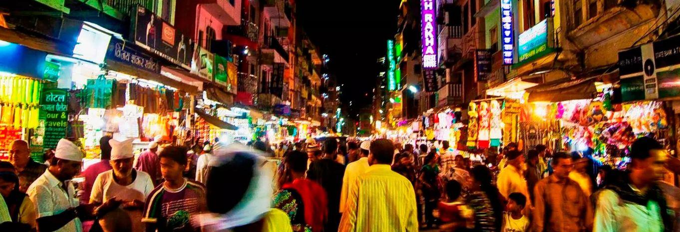 night bazaar jaipur