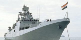 Indian-naval-warship