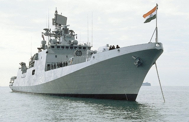 Indian-naval-warship