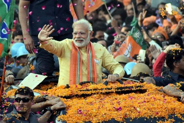 BJP to highlight 4 years of Modi government