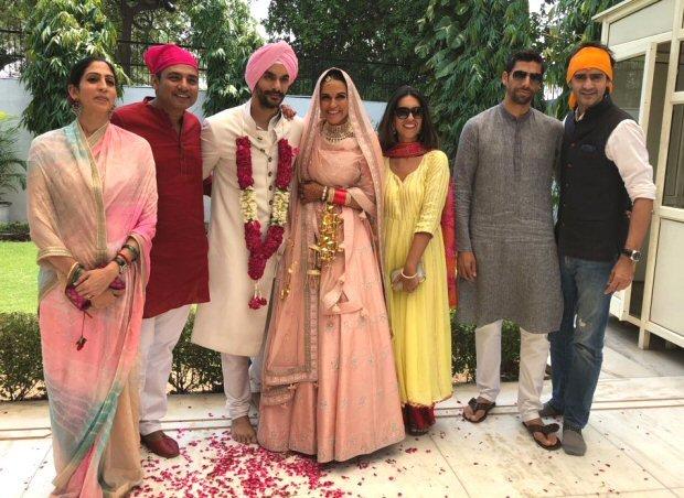 Neha Dhupia wedding