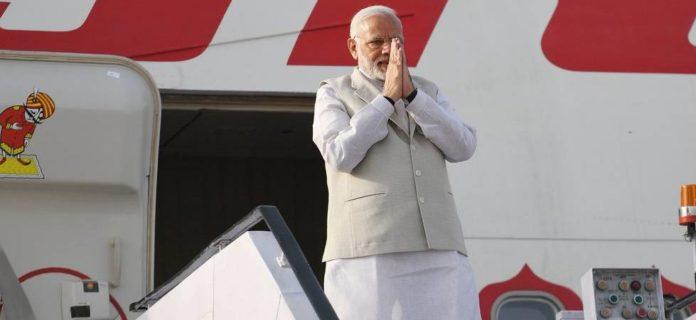 PM Modi travels to Russia