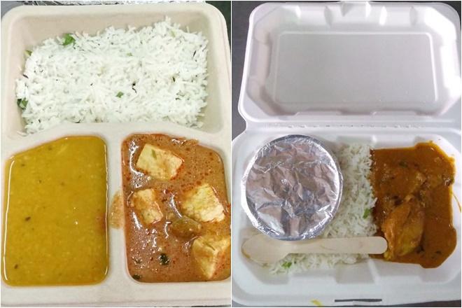 Rajdhani meals