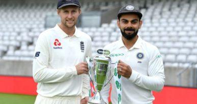 India Vs England Test Series