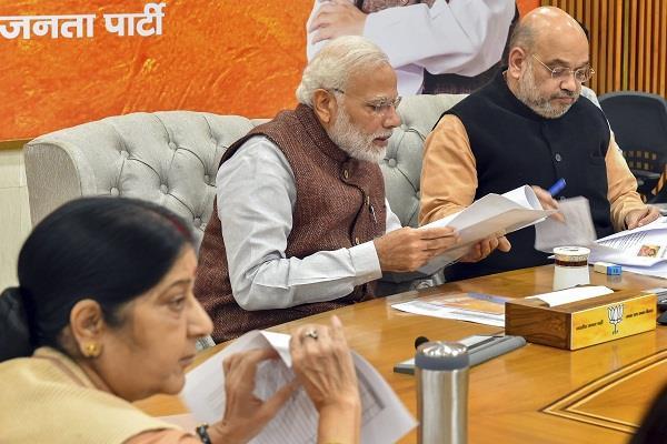 BJP candidates list