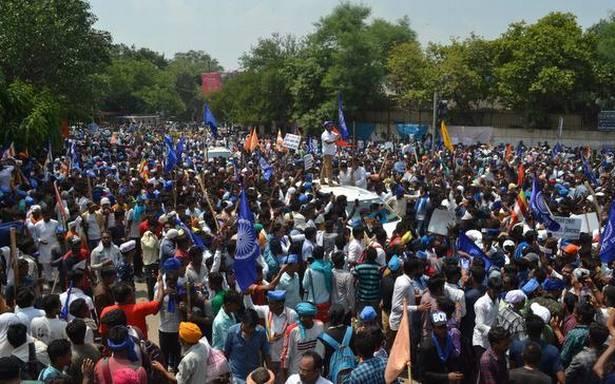 Dalit protest turns violent