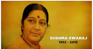 Sushma Swaraj dies at 67