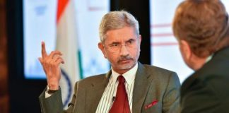 S. Jaishankar, Indian external affairs minister