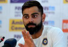 Indian cricket skipper, virat kohli