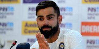 Indian cricket skipper, virat kohli